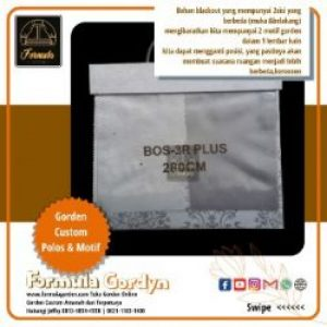 Gorden Bahan Blackout Bos 3R-Plus