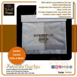 Gorden Bahan Blackout Bos 3R-Plus